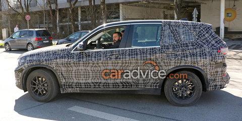 2019 BMW X5 interior and exterior spied