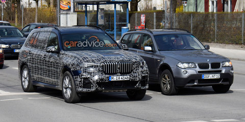 2019 BMW X7 spied inside and out