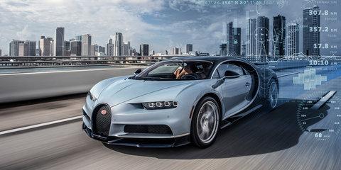 Bugatti Chiron: Round-the-clock monitoring allows 'customer concierge'