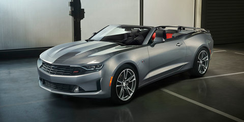2019 Chevrolet Camaro facelift unveiled