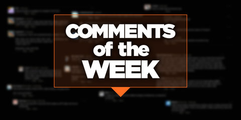 Comments of the Week, April 22