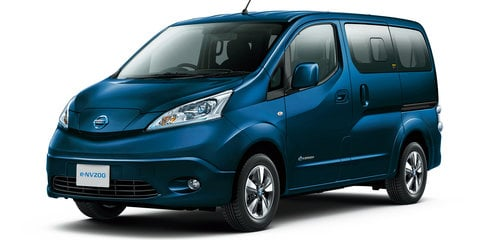 Nissan e-NV200: Bigger battery debuts, not for Australia