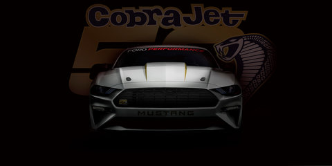 2018 Ford Mustang Cobra Jet teased