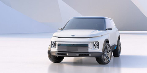 Geely Concept Icon revealed in Beijing