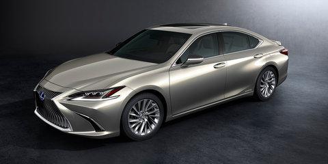2019 Lexus ES revealed, Australian debut set for fourth quarter