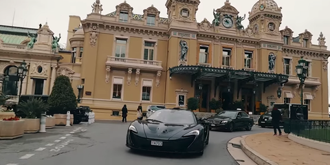 Mika Hakkinen, Nico Rosberg take on Monaco in a McLaren P1 - Video