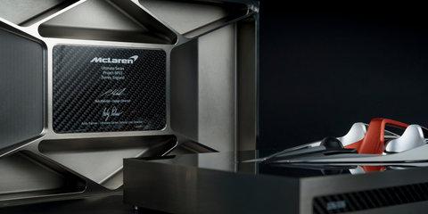 McLaren BP23 'Speed Form' handed to owners