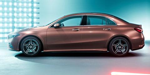 2018 Mercedes-Benz A-Class L sedan unveiled