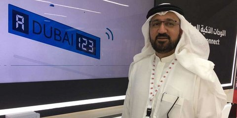 Dubai to trial digital number plates