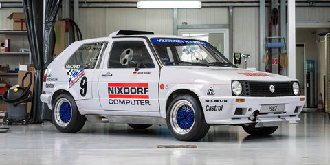 Volkswagen Golf twin-engine Pikes Peak racer restored