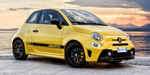 2018 Abarth 595 infotainment upgraded, pricing unchanged - UPDATE