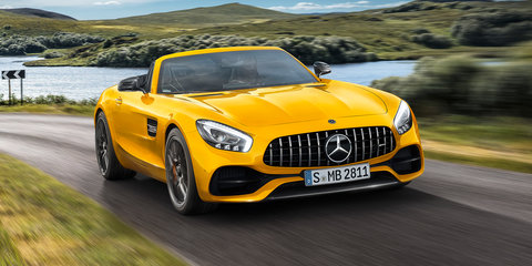 2019 Mercedes-AMG GT S Roadster revealed