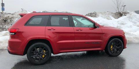 2018 Jeep Grand Cherokee Trackhawk: New York scramble