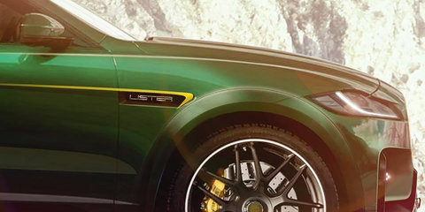 Lister teases new model based on F-Pace SVR