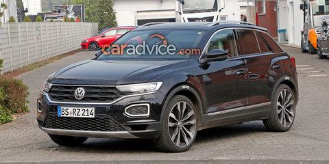 Volkswagen T-Roc R spied again