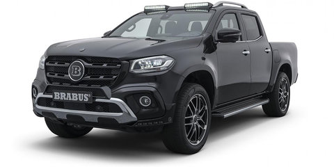 Brabus D4: Powered-up X-Class revealed