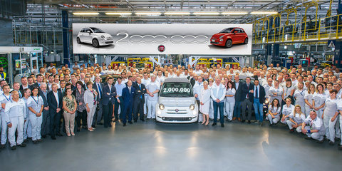 Fiat 500: Two million 'modern' micro hatches sold