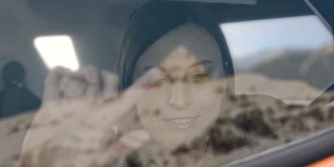 Ford develops window tech to help the blind experience the environment