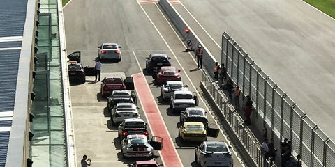 The GT Sprint race series hits the world's longest purpose-built track