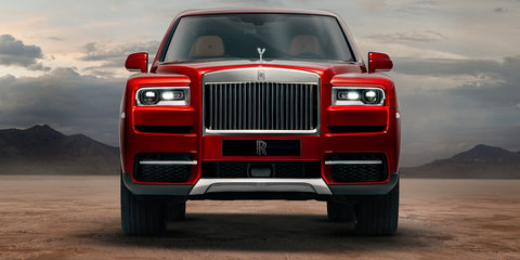 Rolls-Royce rules out sub-Cullinan SUV - report