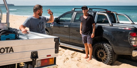 Sand driving tips: Stuck? Here's how to get out