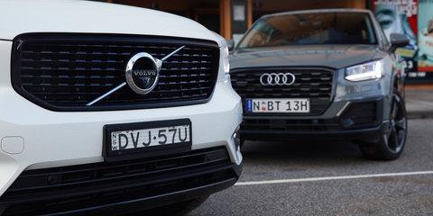 2018 Audi Q2 v Volvo XC40