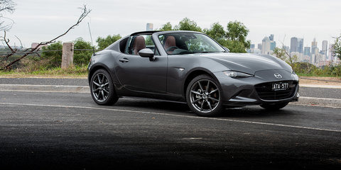 2018 Mazda MX-5 RF Black Roof automatic review