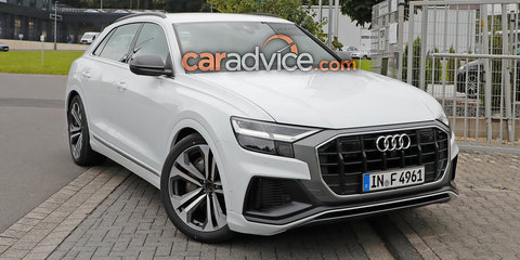 2019 Audi SQ8 spied without disguise