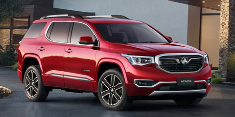 2019 Holden Acadia begins local testing