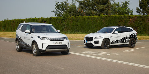 Jaguar Land Rover trialling connected car tech
