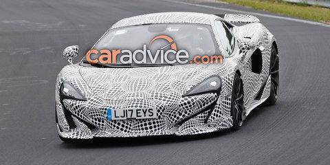 McLaren '600LT' spied