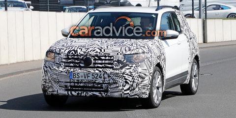 2019 Volkswagen T-Cross spied