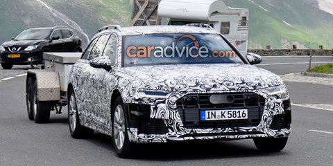2019 Audi A6 Allroad spied