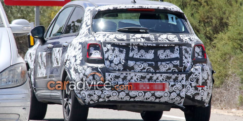 2019 Fiat 500X facelift spied