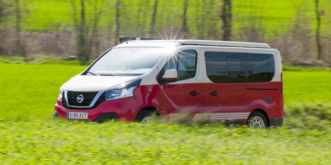 Nissan NV300, e-NV200 campers unveiled for Spain