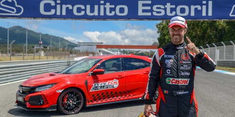 Honda Civic Type R takes Estoril front-drive record - video