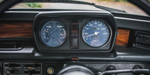 Behind the wheel of the first-generation Honda Civic