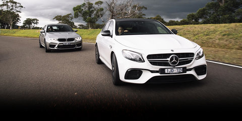 2018 BMW M5 v Mercedes-AMG E63 S comparison