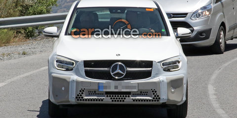 2019 Mercedes-Benz GLC Coupe spied