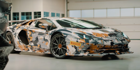 """Lamborghini Aventador SVJ to have """"best weight to power ratio"""" - video"""