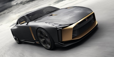 Nissan GT-R50 by Italdesign hits the track - video