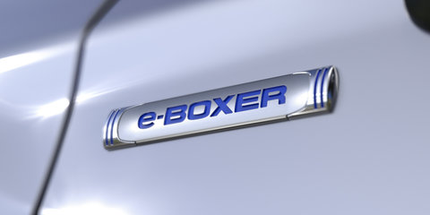 2019 Subaru Forester e-Boxer hybrid for Australia