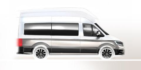 Volkswagen California XXL teased