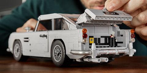 Aston Martin DB5 gets Lego-fied