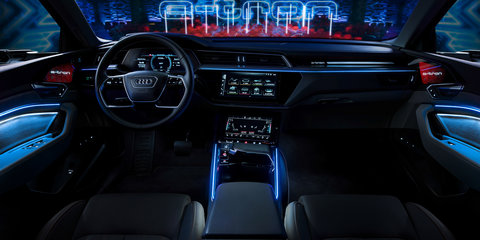 2019 Audi e-tron interior revealed