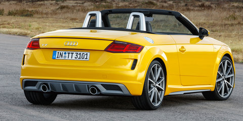 2019 Audi TT revealed, here in 2019 - UPDATE