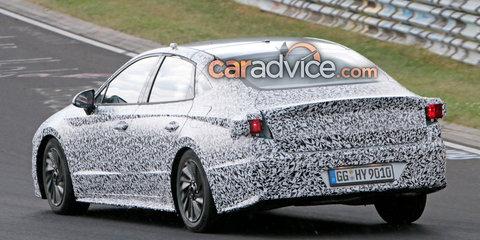 2020 Hyundai i40 sedan spied