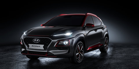 Hyundai Kona Ironman production car revealed for Comic-Con