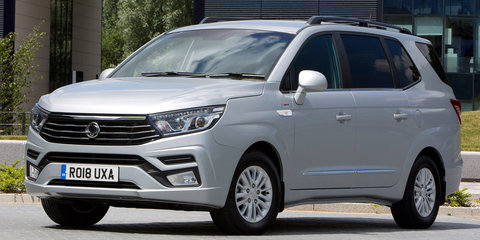 2018 SsangYong Stavic/Turismo facelift revealed