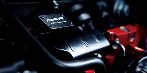 Subaru WRX STI Type RA-R revealed for Japan